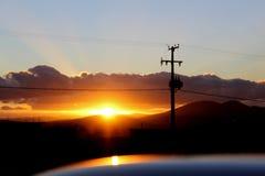 Coucher du soleil photos libres de droits