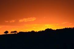Coucher du soleil 3 Photos stock