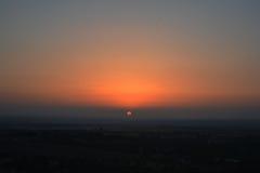 Coucher du soleil Photo stock
