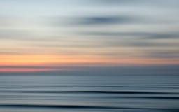 Coucher du soleil abstrait de nature image stock