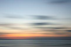 Coucher du soleil abstrait de nature images stock