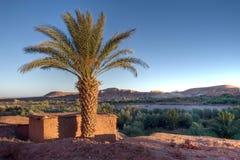 Coucher du soleil Arabe Photos stock