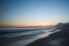 Coucher du soleil armaçao de pêra Photos libres de droits