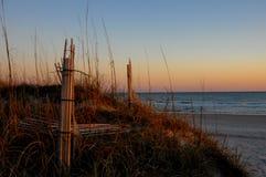 coucher du soleil atlantique Photographie stock libre de droits