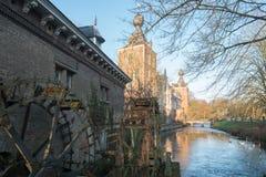 Coucher du soleil au château Arenburg Photo stock