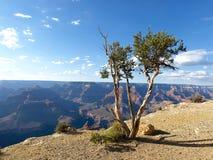 Coucher du soleil au-dessus de canyon grand Photographie stock libre de droits