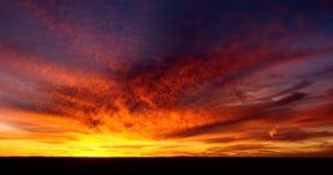 Coucher du soleil au-dessus de parc national de Grand Canyon, Arizona, Etats-Unis image stock