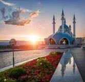 Coucher du soleil au-dessus du Kul-Shar Photos stock