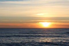 Coucher du soleil au Portugal II Photo libre de droits