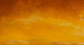 Coucher du soleil chaud à l'arrière-plan artistique de peinture de montagnes Photographie stock libre de droits