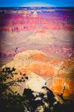 Coucher du soleil chez Grand Canyon Arizona Etats-Unis image stock