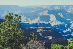 Coucher du soleil chez Grand Canyon Arizona Etats-Unis photo stock