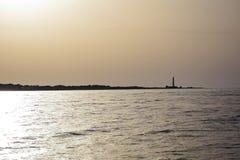 Coucher du soleil chez San Vito Lo Capo photos libres de droits