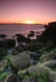 Coucher du soleil chez Sandringham Photographie stock