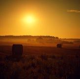 Coucher du soleil d'été Photo libre de droits