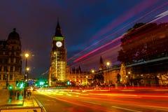 Coucher du soleil d'Amaizing dans la ville centrale de Londres Photographie stock