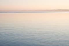 Coucher du soleil d'Ammersee Photos libres de droits