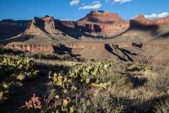 Coucher du soleil dans Grand Canyon, Etats-Unis photo stock