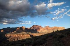 Coucher du soleil dans Grand Canyon, Etats-Unis photographie stock libre de droits