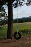 Coucher du soleil dans le Colorado du sud-est Photo stock