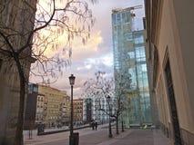 Le musée de Sofia de reina. Madrid images stock