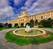 Coucher du soleil dans Sopron Images libres de droits
