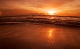 coucher du soleil de bali Photos libres de droits