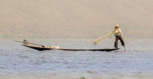 Coucher du soleil 1 de Birmania Images libres de droits