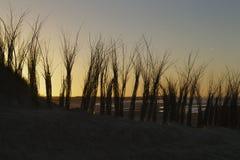 Coucher du soleil de Cadzand Photographie stock libre de droits