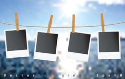 Coucher du soleil de corde Images stock