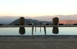 Coucher du soleil de désert de l'Utah Image libre de droits