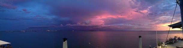 Coucher du soleil de Darwin Photographie stock libre de droits