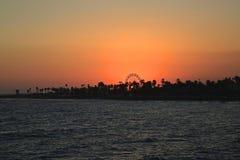 Coucher du soleil de foire régionale de Ventrura photo stock