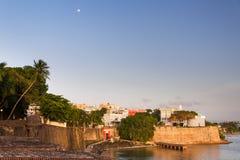 Coucher du soleil de Fortaleza de La Photos libres de droits