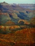 Coucher du soleil de gorge grande, Arizona photographie stock