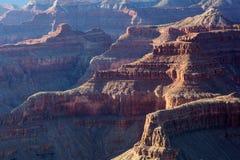 Coucher du soleil de gorge grande, Arizona Images libres de droits