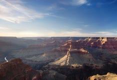 Coucher du soleil de gorge grande, Arizona Photo libre de droits
