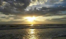 Coucher du soleil de Jacksonville images libres de droits