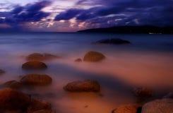 Coucher du soleil de Karon-5 Photographie stock libre de droits