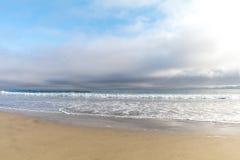 Coucher du soleil de l'océan pacifique Photographie stock libre de droits