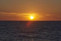 Coucher du soleil de la Floride Photographie stock libre de droits