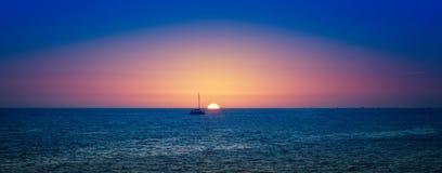 Coucher du soleil de Los Cabos Photographie stock
