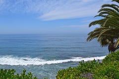 Coucher du soleil de Manhattan Beach Photographie stock