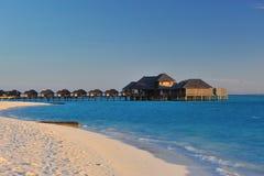 Coucher du soleil de paradis Image libre de droits