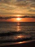 Coucher du soleil 003 de plage Photo libre de droits
