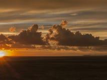 Coucher du soleil 2 de Puerto Vallarta Photographie stock