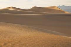 coucher du soleil de sable de dunes Image stock