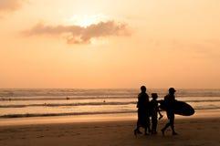 Coucher du soleil de Santa Teresa photo libre de droits