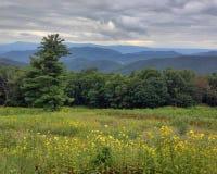 Coucher du soleil de Shenandoah Images libres de droits