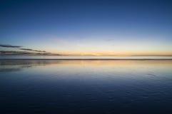 Coucher du soleil de stupéfaction Broome Images stock